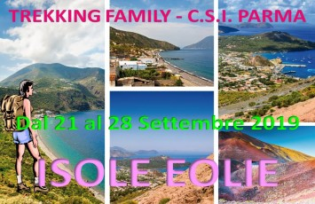 Isole Eolie: 21/28 settembre 2019